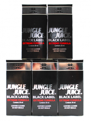Lot 5 poppers Jungle Juice Black Label 30ml