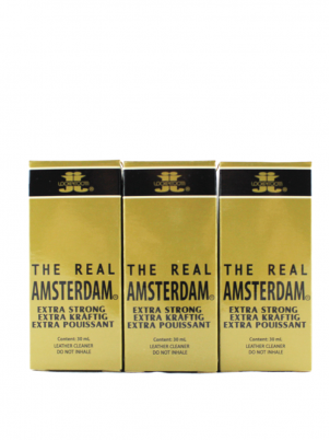 Lot 3 poppers Real Amsterdam 30ml
