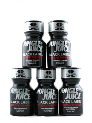 Lot 5 poppers Jungle Juice Black Label 10ml