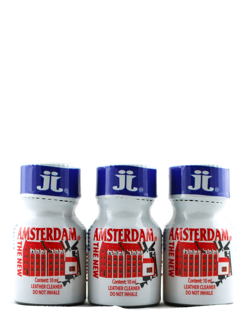 Lot 3 poppers The New Amsterdam 10ml