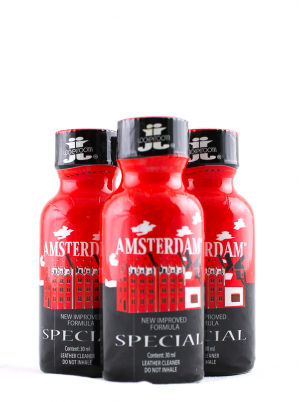Lot 3 poppers Amsterdam Special 30ml