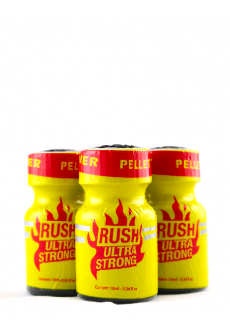 Lot 3 poppers Rush Ultra Strong 10 ml