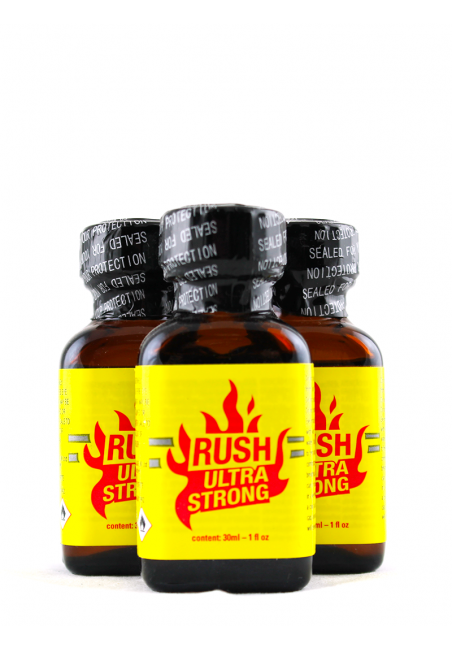 Lot 3 grand poppers Rush Ultra Strong