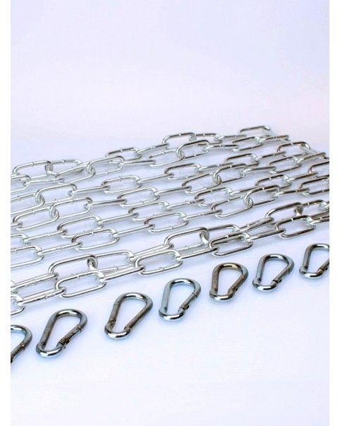 Kit chaines et mousquetons pour structure sling
