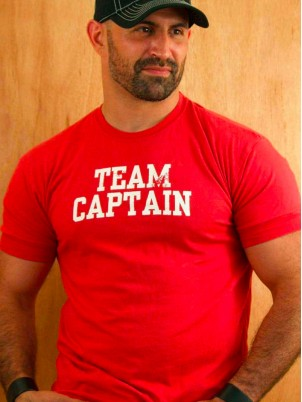 T-shirt Team Captain