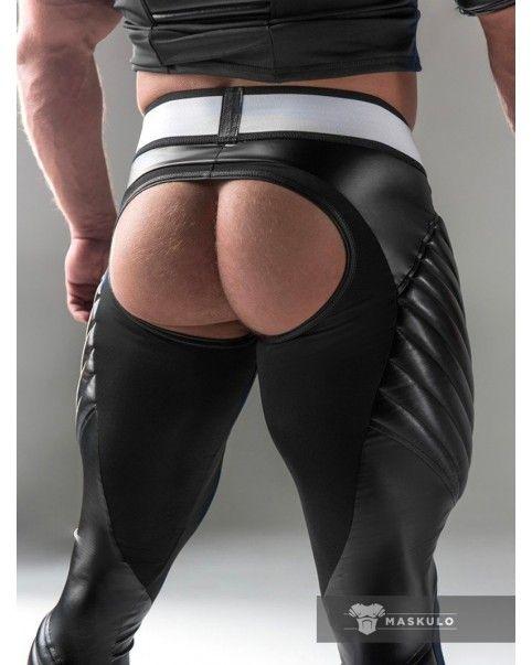 Leggings poche amovible fesses libres Spandex
