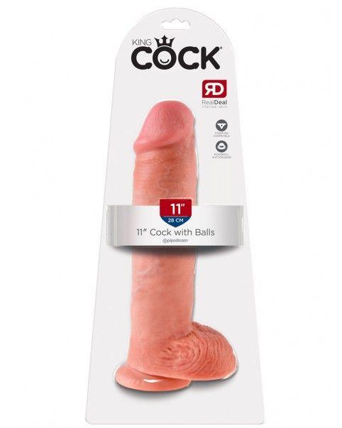 Gode réaliste 28 X 6,4 cm