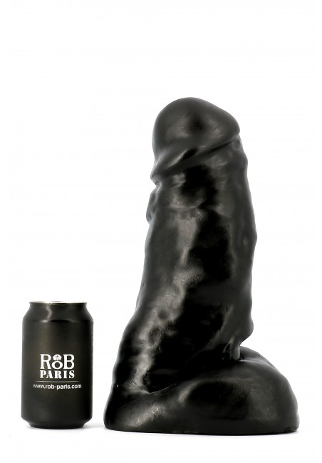 Gode Dark Crystal noir 25.5 X 9.5 cm