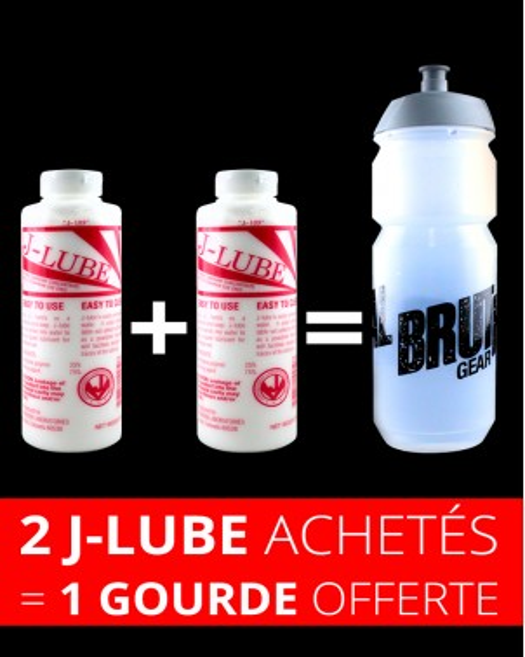 Lot 2 J-Lube, 1 shaker offert.