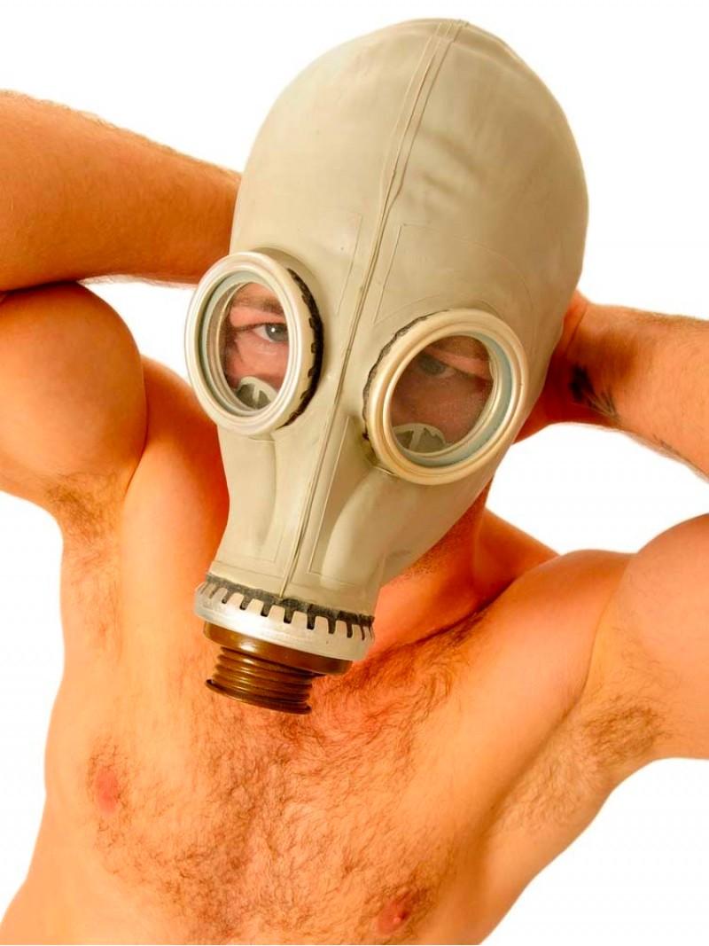 Masque à gaz Russe gris
