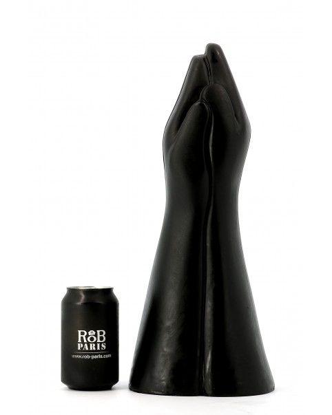 Gode 2 mains noir 40 X 11.8 cm