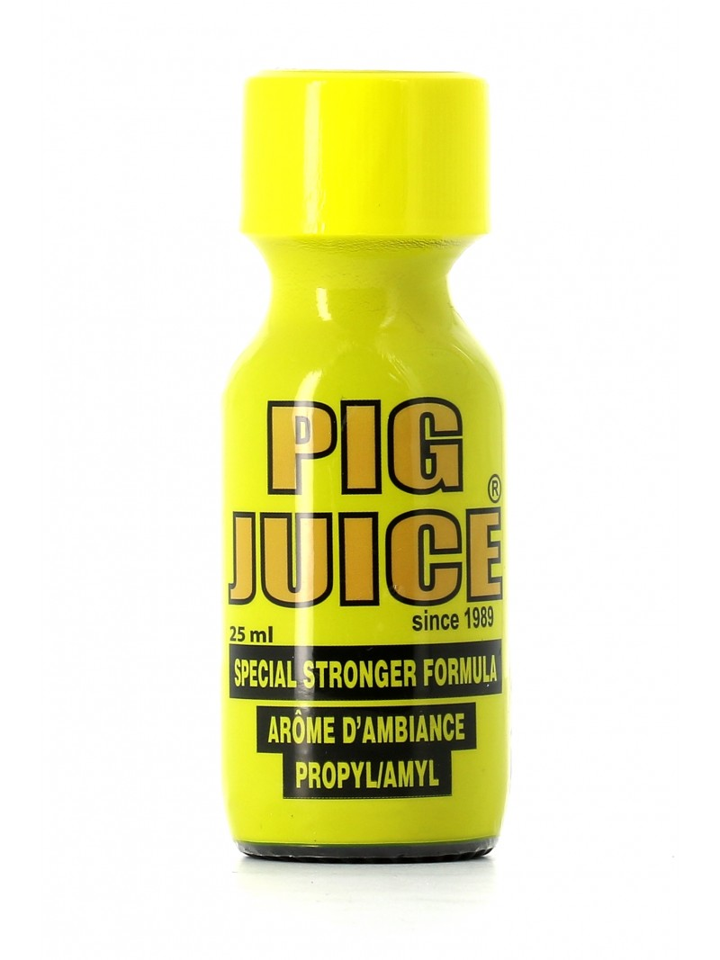 Poppers puissant Pig Juice