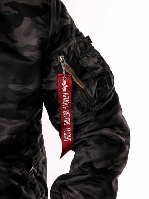 Bombers MA-1 Slim-Fit Camo