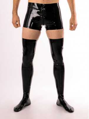 Cho7 montantes (stockings) en latex