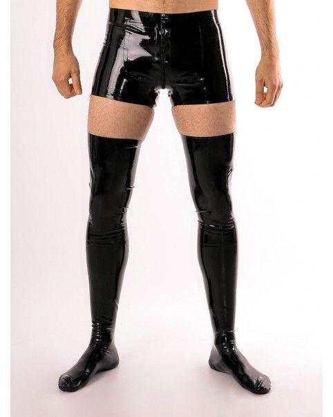 Cho7 montantes (stockings) en latex