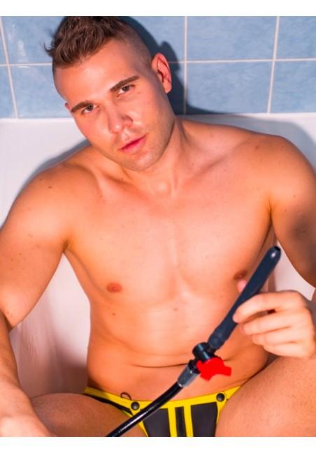 Embout de douche flexible avec variateur de pression