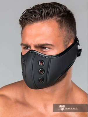 Masque cuir gay Maskulo