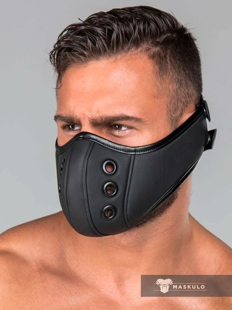Masque cuir gay Maskulo