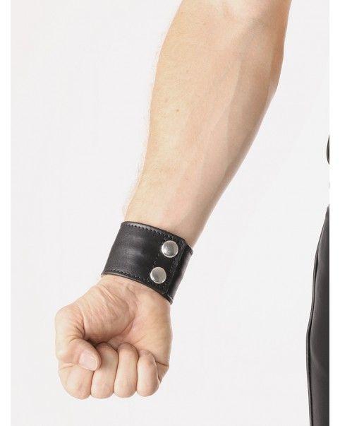 Bracelet poche zippé  cuir