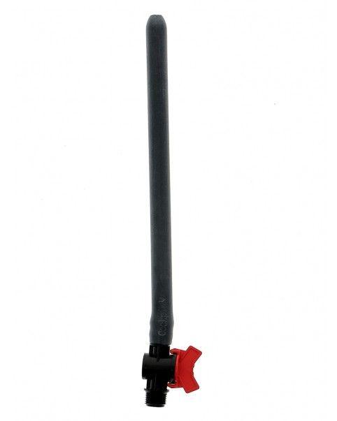 Embout de douche flexible long avec variateur de pression