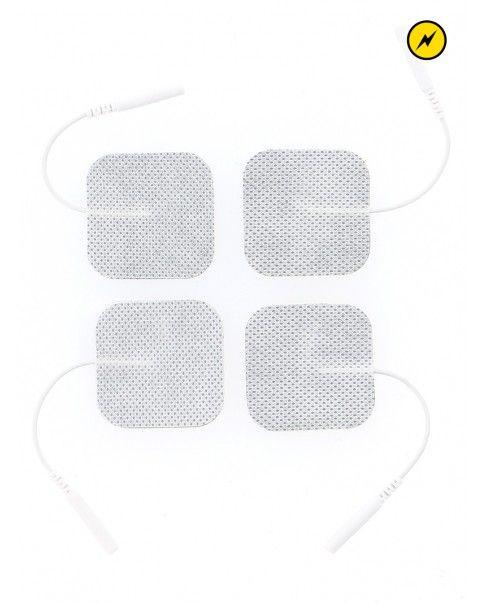 4 patchs électro adhesifs
