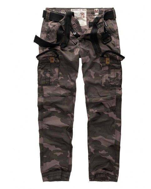 Treillis Slim camouflage