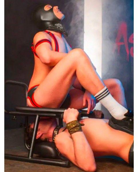 Chaise Percée, Rim Chair BDSM