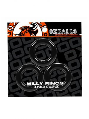 Lot 3 Cockrings Willy