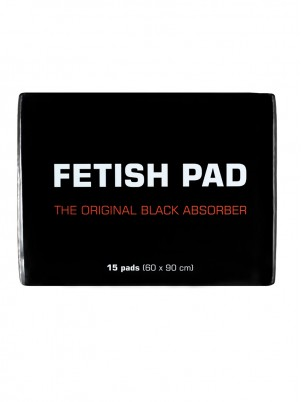 Protections noires absorbantes Fetish Pad