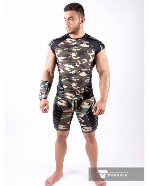 T-shirt Armored Camo