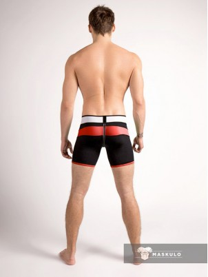 Short Youngero rouge Maskulo