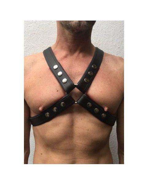 Harnais cuir ajustable