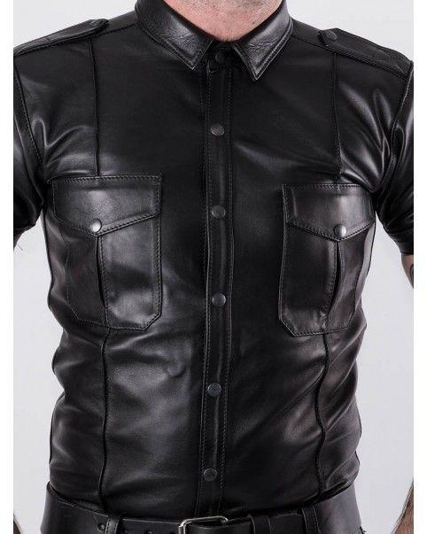 Chemise Slim Fit Premium Bruthal cuir