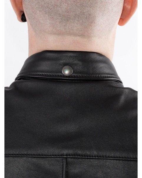 Chemise Slim Fit Bruthal cuir
