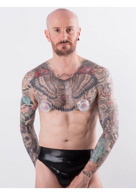 Suceurs de tétons transparents