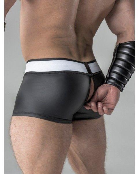 Short poche amovible zip arrière Spandex