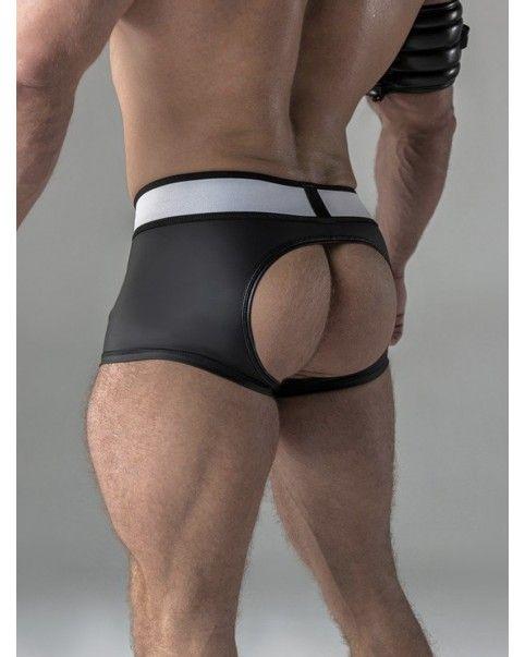 Short poche amovible fesses libres Spandex