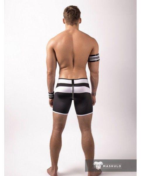 Short poche amovible zip arrière Neon