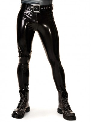 Pantalon Slim Fit Latex