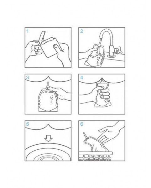 Poire à lavement hygiénique et jetable
