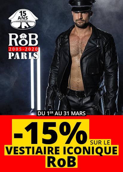 ANNIVERSAIRE ROB PARIS