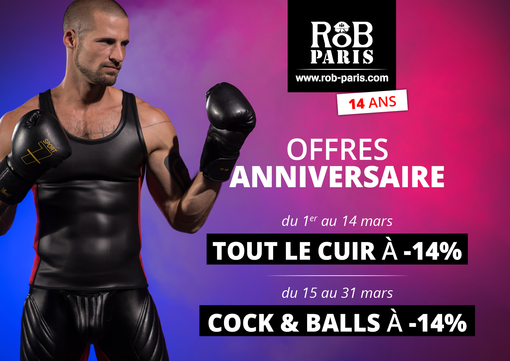 Anniversaire RoB Paris